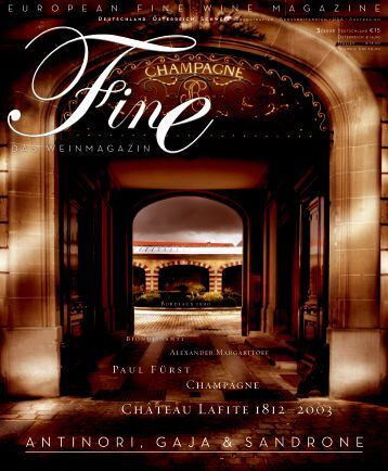 FINE Das Weinmagazin - 03 2008