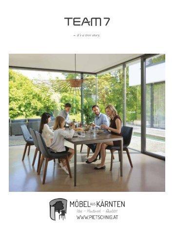 team 7 katalog typen bersicht wohnen. Black Bedroom Furniture Sets. Home Design Ideas