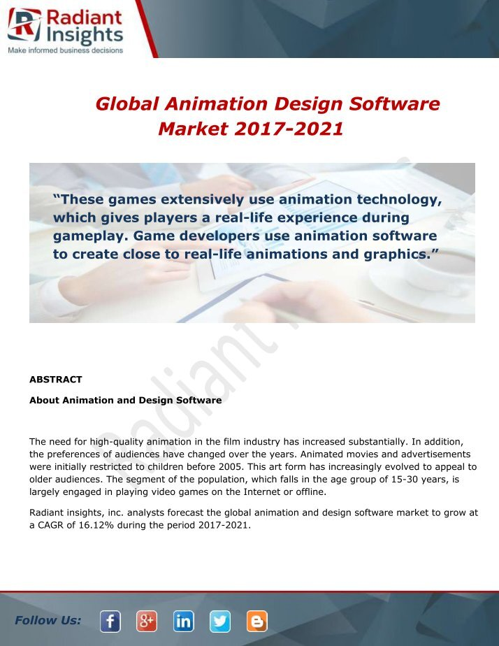 global animation industry