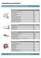 Preisliste eh-technik 2017-2018 - Elektrische Heizsysteme - Seite 2