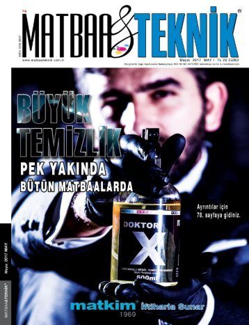 Matbaa Teknik Dergisi Mayıs 2017 Sayısı
