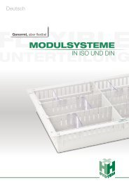 Modulsysteme in ISO und DIN