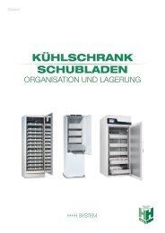 Organisation im Kühlschrankbereich