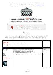 Ankaufliste volle Toner Tinte Tintenpatronen Ankauf buy unused full OEM Cartridges Mai 2017