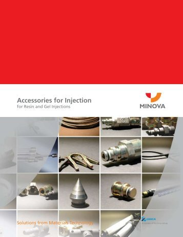 Accessories for Injection - Minova