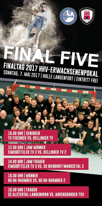 Final Five Pokalheft