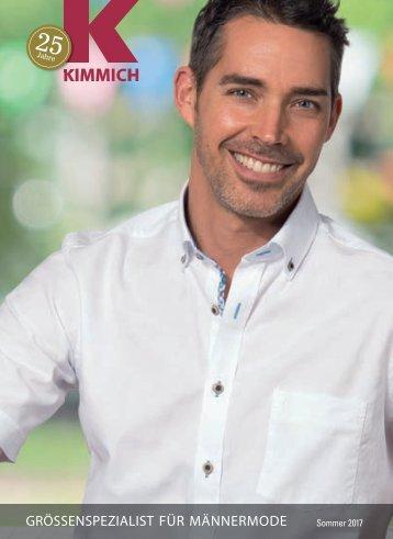Kimmich Mode-Versand | Größenspezialist für Männermode | Sommer 2017