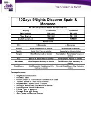10Days 9Nights Discover Spain & Morocco - al Quds Travel