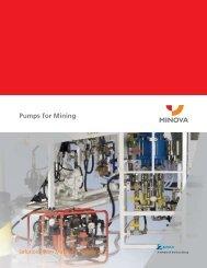 Pumps for Mining - Minova