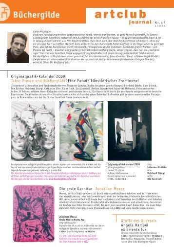 artclub - Der Frankfurter Grafikbrief