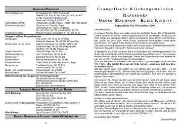 rangsdorf gross machnow – klein kienitz