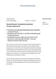 DaimlerChrysler Kunstbesitz präsentiert Private/Corporate III