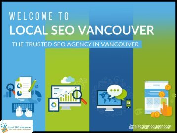 Local SEO Vancouver - The Leading SEO Service in Vancouver