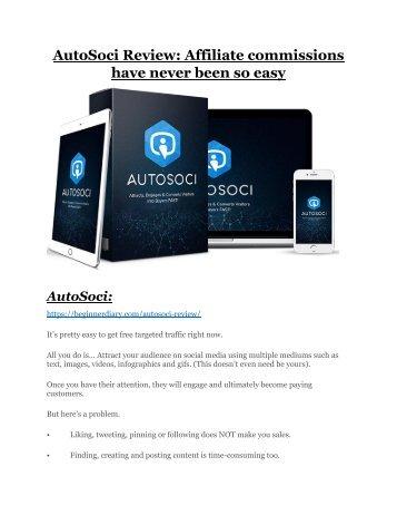 AutoSoci review-$26,800 bonus & discount suddenly