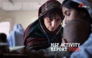 MSF Activity RepoRt 2008