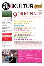 21. Oktober 2012 - a3kultur