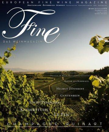FINE Das Weinmagazin - 04 2009