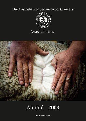 1585_ASWGA09_Cvr - ASWGA. Australian Superfine Woolgrowers ...