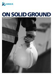 2010 Annual Report (PDF) - Orica Limited 2011 Business Overview