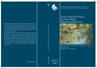 Gute fachliche Praxis fischereilicher Besatzmaßnahmen, 2007, Heft 14