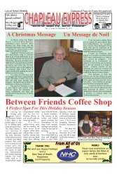 Between Friends Coffee Shop - Chapleau Express