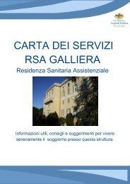 Carta dei servizi di struttura - Ospedale Galliera