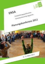 Kontakt - ENSA-Programm