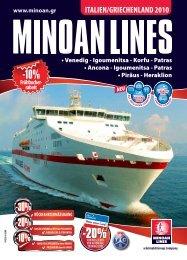 Venedig - Igoumenitsa - Korfu - Minoan Lines