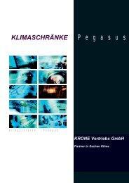 P e g a s u s - KRONE Kälte & Klima GmbH