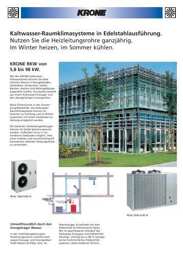 Prospekt (Farbe) (397,1 KB) - KRONE Kälte & Klima GmbH