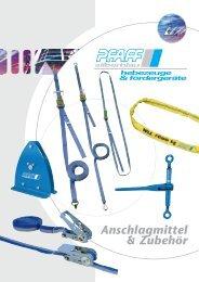 Anschlagmittel & Zubehör - SHB Seil- und Hebetechnik Berlin GmbH