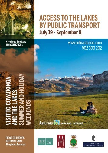 access to the lakes by public transport - Consorcio de Transportes ...