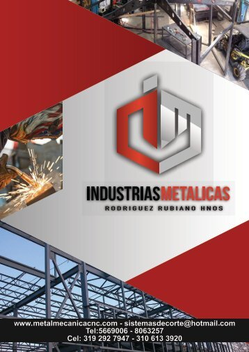 CATALOGO INDUSTRIAS METALICAS