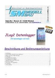 SM Anleitung JLog2 v3.1.pdf - SM-Modellbau