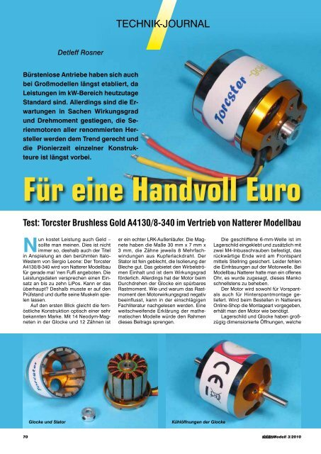 elektro - Natterer Modellbau