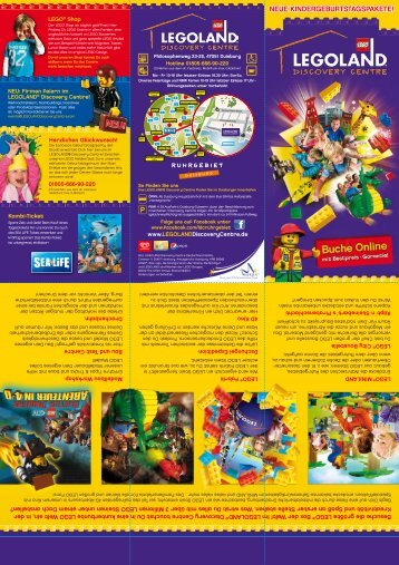 neue kindergeburtstagspakete! - LEGOLAND® Discovery Centre