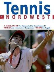 Verbandszeitung 03/2006 - Tennisverband NORDWEST eV