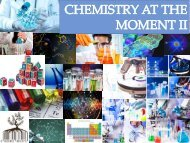 CHEMISTY AT THE MOMENT II (PIA quimica)