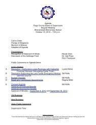 Agenda Packet - Page County - Commonwealth of Virginia