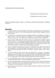 Interrogazione parlamentare dei VERDI su Lunardi-Rocksoil