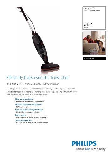 FC6132/02 Philips Stick vacuum cleaner