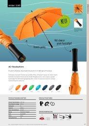 Werbeschirme, Regenschirme für Ihre Werbung