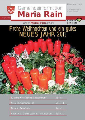 Volksschule Maria Rain - FranzRagger.at