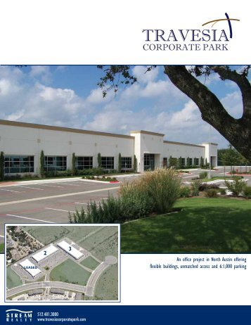 An office project in North Austin offering flexible buildings ...