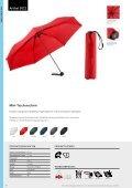 Regenschirme, Werbeschirme, Werbemittel Taschenschirme - Seite 3