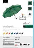 Regenschirme, Werbeschirme, Werbemittel Taschenschirme - Seite 4