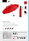 Regenschirme, Werbeschirme, Werbemittel Taschenschirme - Seite 6