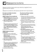 Sony VPCX13C7E - VPCX13C7E Guide de dépannage Turc - Page 6
