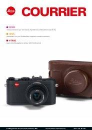 STORY NEWS VITRINE - Leica Camera AG