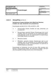 Zuwendungen - Seibert Finanz-Steuerberatung